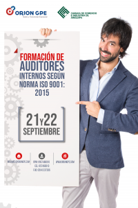 """FORMACIÓN DE AUDITORES INTERNOS SEGÚN NORMA ISO 9001"""
