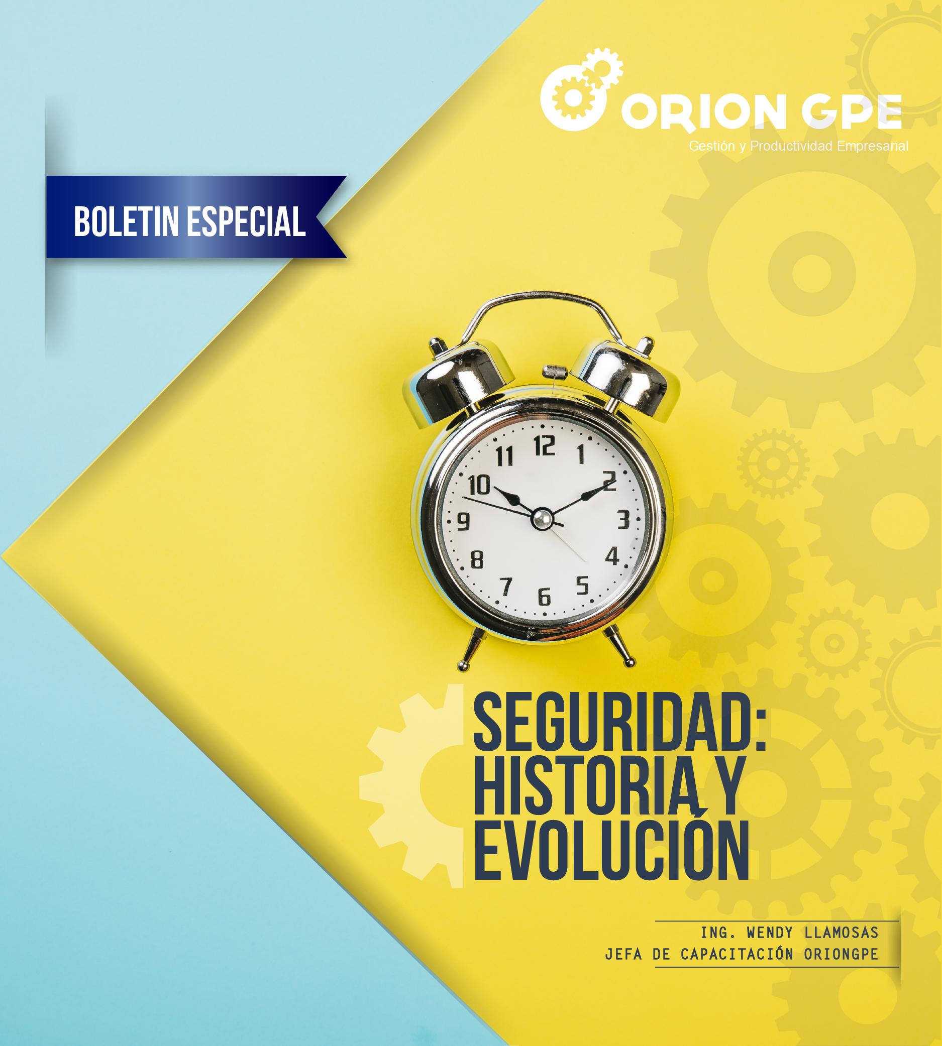 Seguridad: Historia y evolución