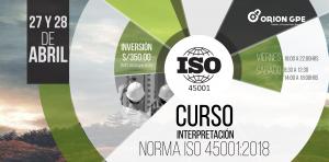 Lee más sobre el artículo Curso:INTERPRETACIÓN DE LA NORMA ISO 45001:2018