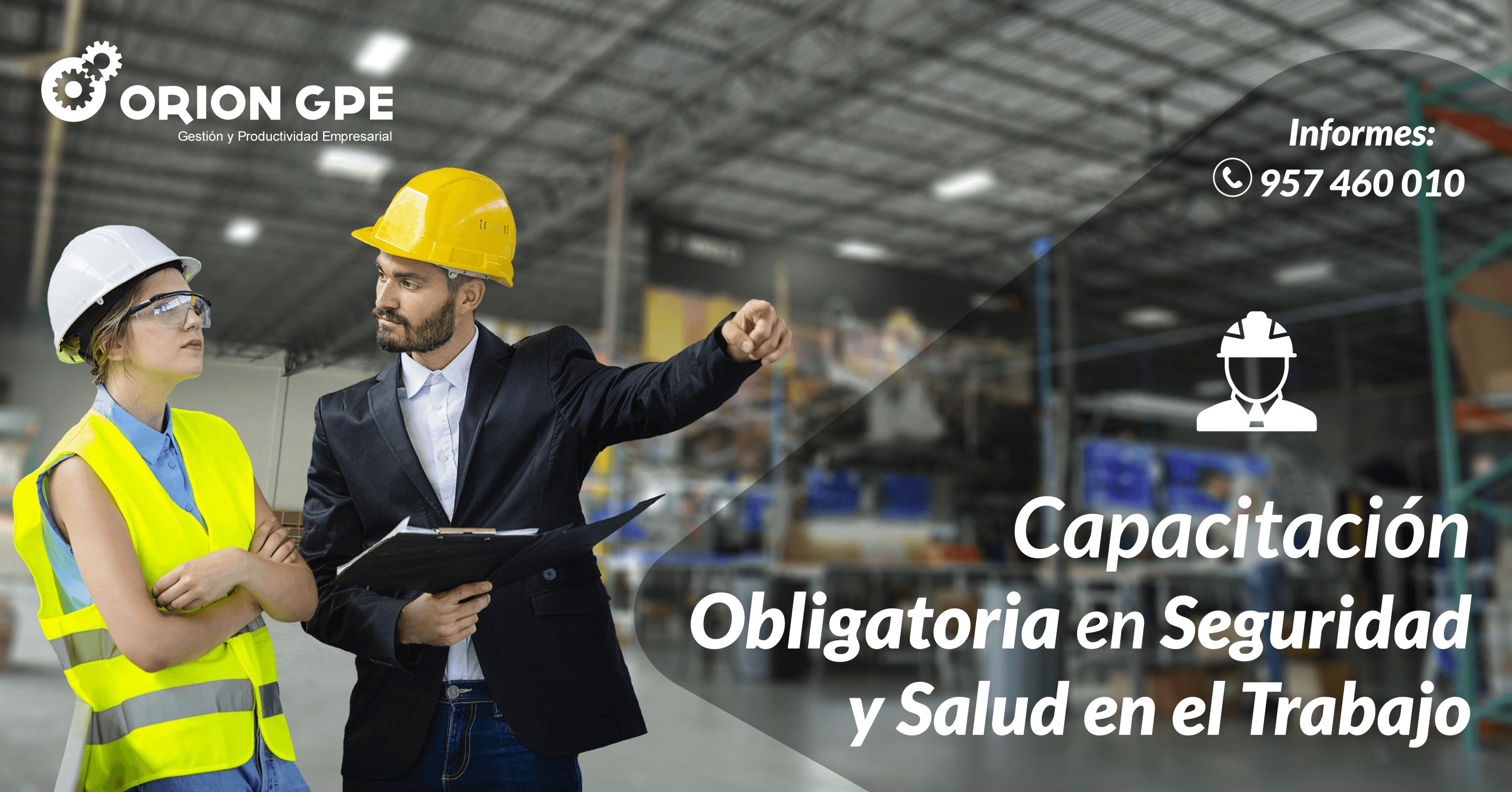 Programa de Capacitación Obligatoria en Seguridad y Salud en el Trabajo 2019